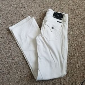 Miss Me White Boot Cut Jeans Size 27
